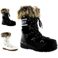 Womens Tecnica Original Moon Boot Monaco Low Waterproof Snow Rain Boots UK 3-8