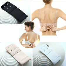 Hot 3 PCS Back Bra Extenders Strap Extension 2/3 Hooks Lady Bra Extension Strap