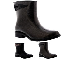 Ladies Mel Dreamed By Melissa Goji Wing Snow Rain Wellys Ankle Boot All Sizes