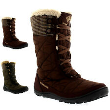 Womens Columbia Minx Mid II Tweed Omni-Heat Snow Winter Waterproof Boot US 5-11