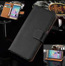 Premium Leather Flip Book Stand Wallet Card Holder Case Cover For Samsung Models