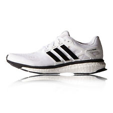 Adidas Energy Boost 2 ESM Womens White Running Road Sports Shoes Trainers