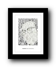 The Smiths ❤ William, It Was Really Nothing ❤ typography poster art print #3