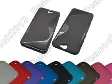 Multi Color S-Types TPU Silicone CASE Cover For HTC One A9