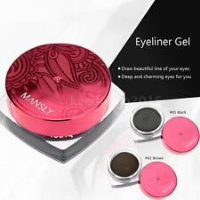 New Pro Eyeliner Gel Cosmetic Eye Liner Soft Smooth Waterproof Hot U2X3