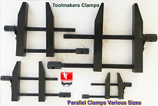 """LINER TOOL MAKERS PARALLEL CLAMPS SIZE 2"""" 3"""" 4"""" 5"""" INDUSTRIAL ENGINEERING DIY"""