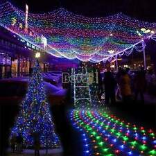 100/200/300 LED Fairy Net Lights Mesh Lighting Christmas xmas Tree Wedding Party