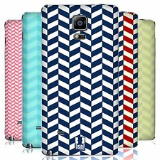 HEAD CASE DESIGNS HERRINGBONE PATTERN BATTERY COVER FOR SAMSUNG PHONES 1