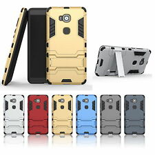 For Huawei G8/G7 Plus/Mate S Shockproof Hard Armor Kickstand Cover Case New