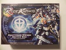 Relic Knights Shattered Sword Paladins Battle Box Tabletop Game Starter Set