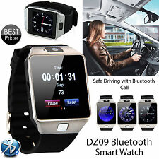 Bluetooth Smart Unlock Phone Watch with SIM Camera for IOS Android Phone