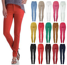 Women's Stretchy Cotton Colorful Skinny Jeans Stylish Pencil Straight Pants 0077