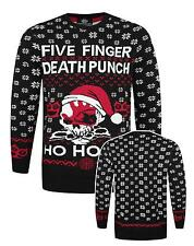 Official Five Finger Death Punch Skull Unisex Christmas Sweater