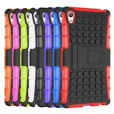 GRENADE GRIP RUGGED SKIN HARD CASE COVER STAND FOR SONY Xperia LG nokia MOTO HTC