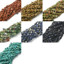 "Natural Assorted Shape Chips Loose Gemstone Beads Strand 34"" for Jewelry Making"