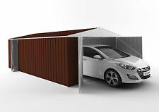 EasyShed 3 Door Garage Shed 4.5mx3.8m Colour