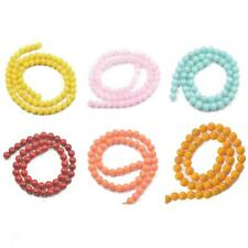 """High Quality Jade Gemstone Rounds Beads for Jewelry Making 15.5"""" Strand- 6mm/8mm"""