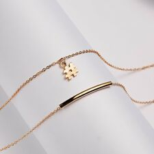 Stylish Silver Jewelry CROSS Sweater Chain Crystal Pendant Necklace Women Gifts