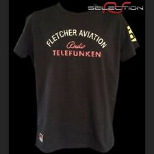 Tee-shirt homme Fletcher Aviation Spyder 550 n° 55 noir