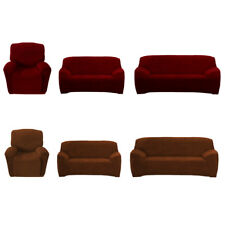 3 Size Seater Sofa Chair Couch Slip cover Loveseat Recliner Protector Home Decor