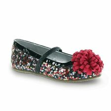 NIB New STRIDE RITE Shoes Kenleigh Black Multi Sparkle Sequin 5.5 6.5 8 9 10 M