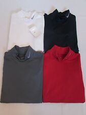 NEW MEN'S NIKE GOLF COMPRESSION HYPERWARM MOCK NECK SHIRT, PICK A COLOR AND SIZE