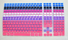 Ultra Thin Silicone Keyboard Cover Skin with a numeric keypad for Apple iMac