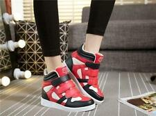 5 colors fashion womens hidden wedge platform high top sneakers shoes hot