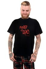 Punks Not Dead - Punk Forever T-Shirt Rock Punk by Omen Clothing