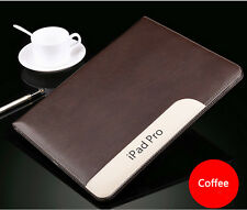 Luxury Slim Smart Stand Leather Case Holder Cover Sleep/ Wake Pouch for iPad Pro