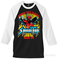 Long Sleeve: Spinal Tap - Smell The Glove Tour (raglan) Longsleeve Shirt Black