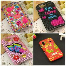 Rhinestone Bling Floral Bling HARD #S CASE For Samsung Galaxy i9020 Nexus