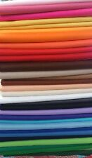 Self Adhesive Craft Felt Fabric Material - Sold by Length - Assorted Colours