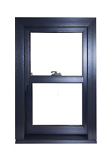 UPVC Sash Windows Sliding Sash Woodgrain Grey Anthracite 7016 Any Size £371