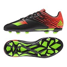 ADIDAS MESSI 15.3 FG AG FIRM / ARTIFICIAL GROUND YOUTH SOCCER SHOES Core Black