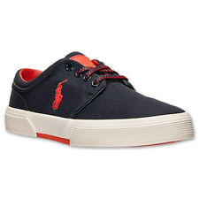 Men's Polo Ralph Lauren Faxon Low Cordura Casual Shoes  NAVY