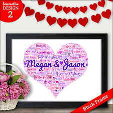 Valentines Gifts for Her - PERSONALISED Valentines Day Gifts Wife Girlfriend Mrs