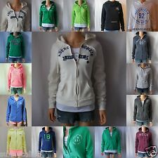 ABERCROMBIE & FITCH WOMEN HOODIE Marybeth All Sizes NWT green GRAY blue PINK new