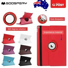 iPad 2 3 4 PU Leather 360 degrees Swivel Rotating Stand Folio Smart Case Cover