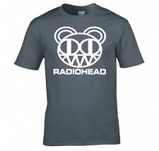 "RADIOHEAD ""BEAR HEAD LOGO"" T SHIRT NEW"