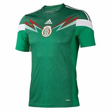 ADIDAS MEXICO AUTHENTIC HOME JERSEY FIFA WORLD CUP BRAZIL 2014.