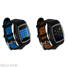 Bluetooth Smart Wrist Watch for iPhone Samsung&Android Phone with GPS Camera SIM