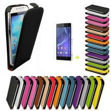 Sony Xperia Z2 Flip Case Cell Phone Cover Protective Case Synthetic Leather Case