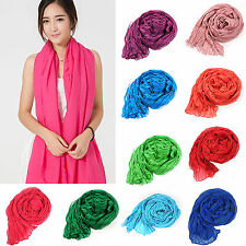 yeah Fashion Lady Women's Long Candy colors Scarf Wraps Shawl Stole Soft Scarves