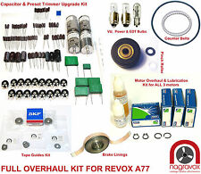 Revox A77 complete full service overhaul kit