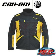 NEW CAN AM CAN-AM YELLOW / BLACK MEN'S RIDING JACKET ATV SIDE BY SIDE