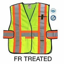FR Treated Class 2 Fire Retardant 5-Point Breakaway Reflective Safety Vest