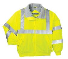 Personalized Reflective Water Resistant Jacket Road Work Crew Safety Warm Truck