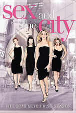Sex and the City: The Complete First Season (DVD, 2000, 2-Disc Set,...