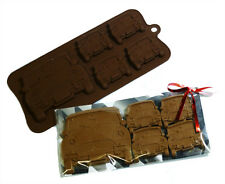 4+1 Mini Cooper Classic Car Chocolate Candy Cookie Silicone Bakeware Mould Party
